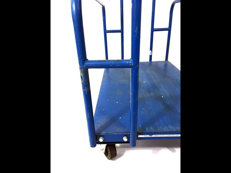 unknown timber sheet trolley 491730 011