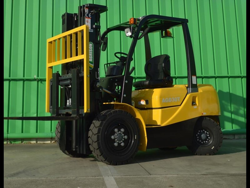 agrison 3 tonne forklift - 3 stage cont. mast - nationwide delivery 505629 003