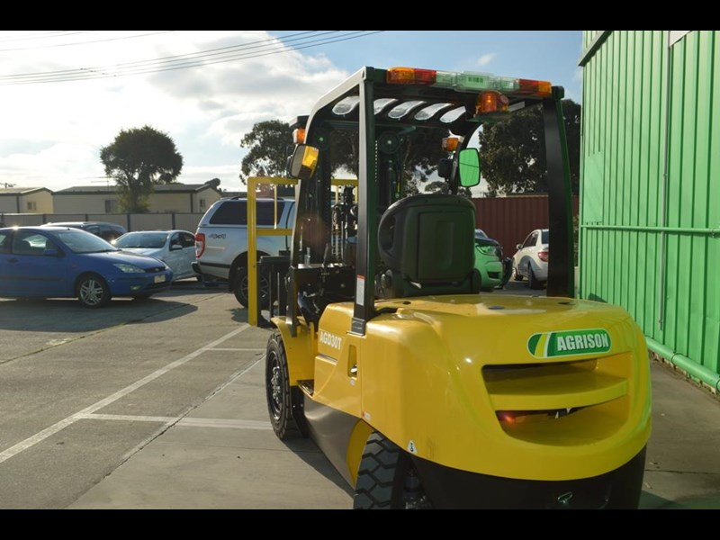 agrison 3 tonne forklift - 3 stage cont. mast - nationwide delivery 505629 007