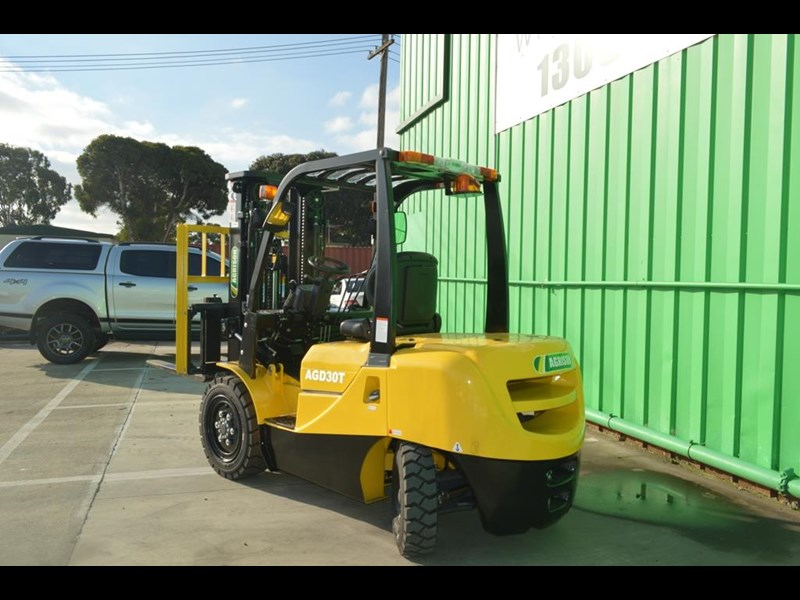 agrison 3 tonne forklift - 3 stage cont. mast - nationwide delivery 505629 009