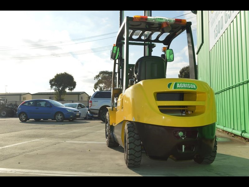 agrison 3 tonne forklift - 3 stage cont. mast - nationwide delivery 505629 021