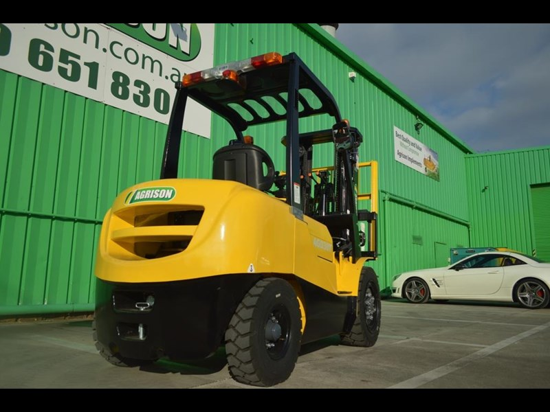 agrison 3 tonne forklift - 3 stage cont. mast - nationwide delivery 505629 033