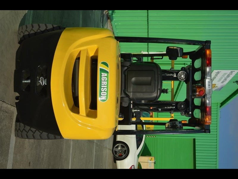 agrison 3 tonne forklift - 3 stage cont. mast - nationwide delivery 505629 035