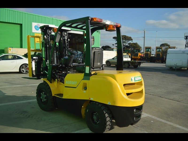 agrison 3 tonne forklift - 3 stage cont. mast - nationwide delivery 505629 037
