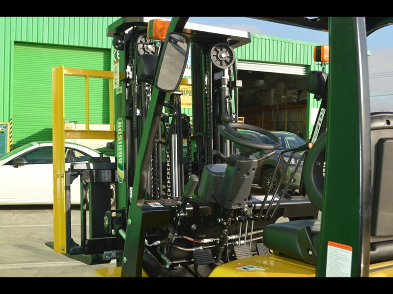 agrison 3 tonne forklift - 3 stage cont. mast - nationwide delivery 505629 039