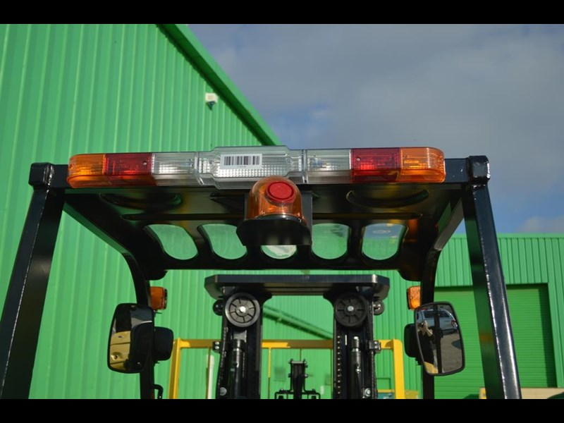 agrison 3 tonne forklift - 3 stage cont. mast - nationwide delivery 505629 043
