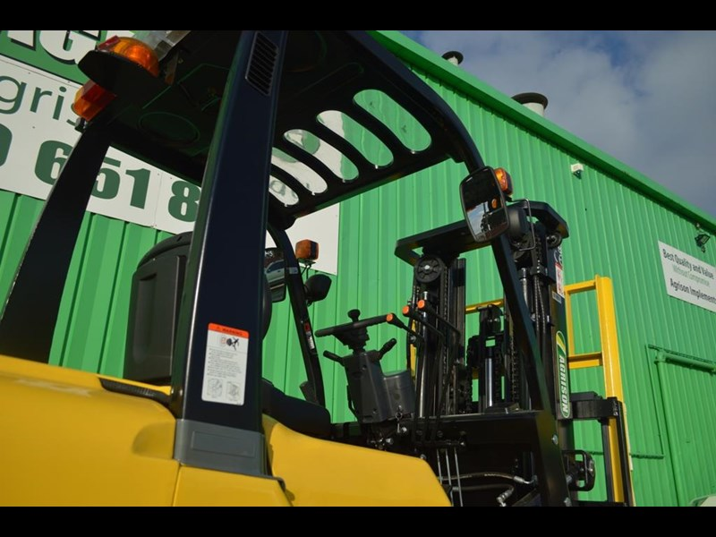 agrison 3 tonne forklift - 3 stage cont. mast - nationwide delivery 505629 049