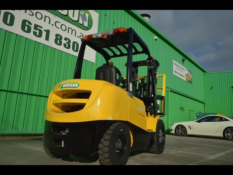 agrison 3 tonne forklift - 3 stage cont. mast - nationwide delivery 505653 029
