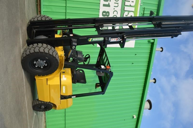 agrison 5 tonne forklift - 3 stage cont. mast - nationwide delivery 505661 029