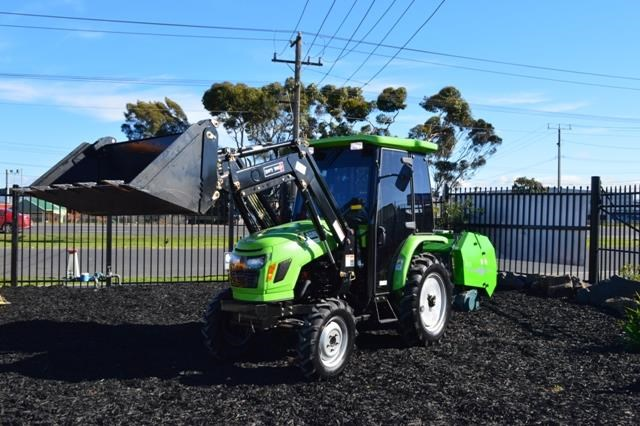 agrison 40hp cdf cabin + 6ft slasher + fel + 4 in 1 bucket 508938 005