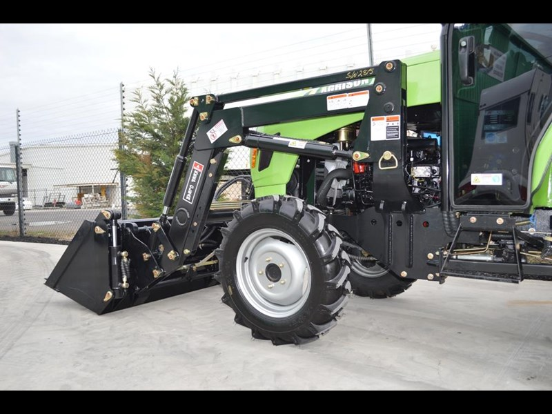 agrison 40hp cdf cabin + 6ft slasher + fel + 4 in 1 bucket 508940 027