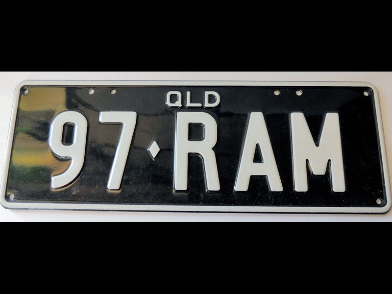 number plates 97ram qld 511393 003