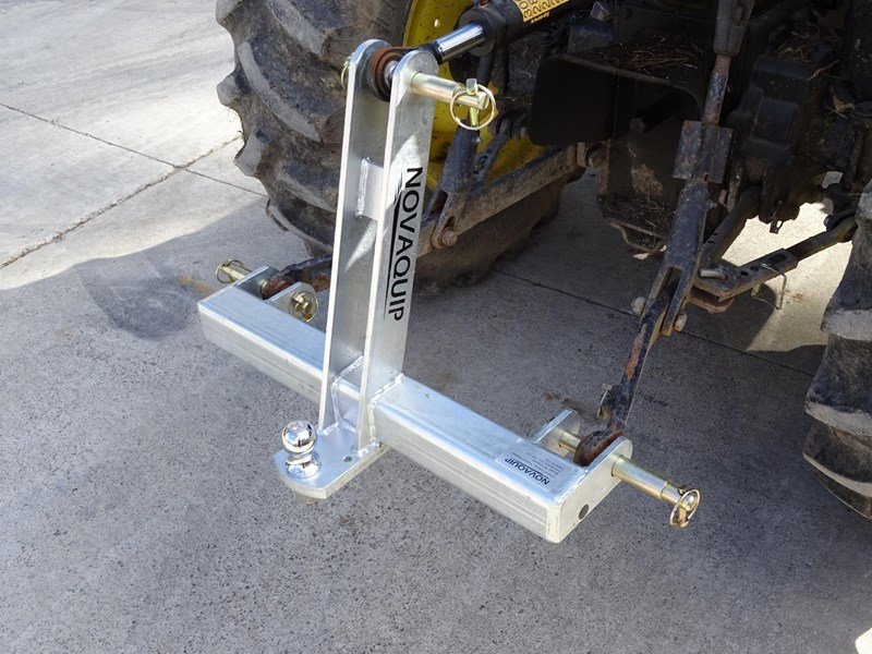 Three Point Linkage Tractor : Novaquip point linkage towbar for sale