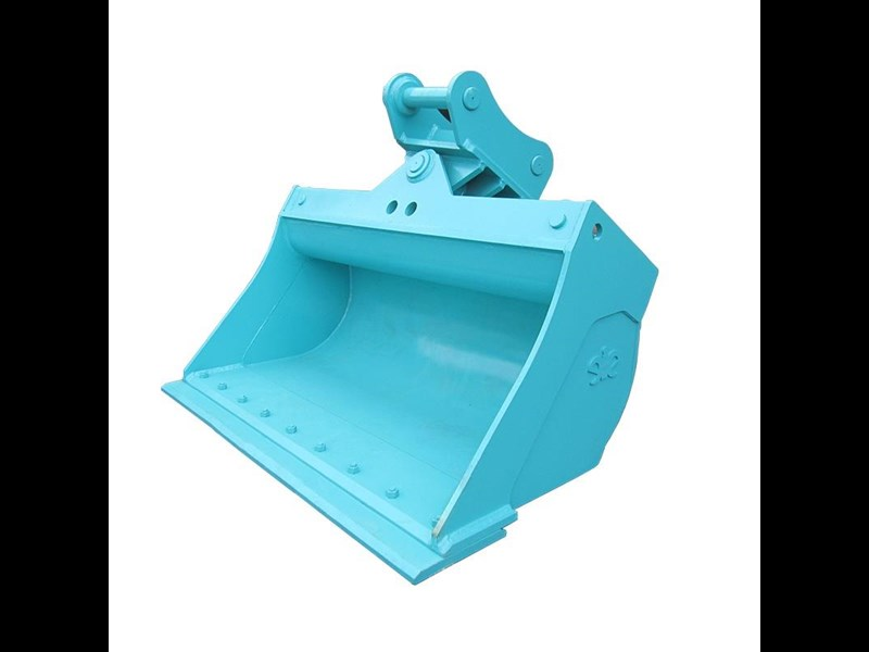ei engineering tilting mud bucket with bolt-on-edge for sk210 107231 003