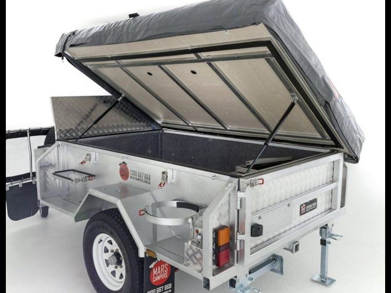 mars campers surveyor series gs 14 - soft top camper trailer 211751 031