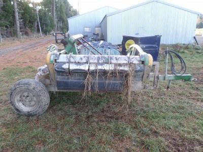 hustler chainless 4000 chainless 4000 ,2-bale 514045 007
