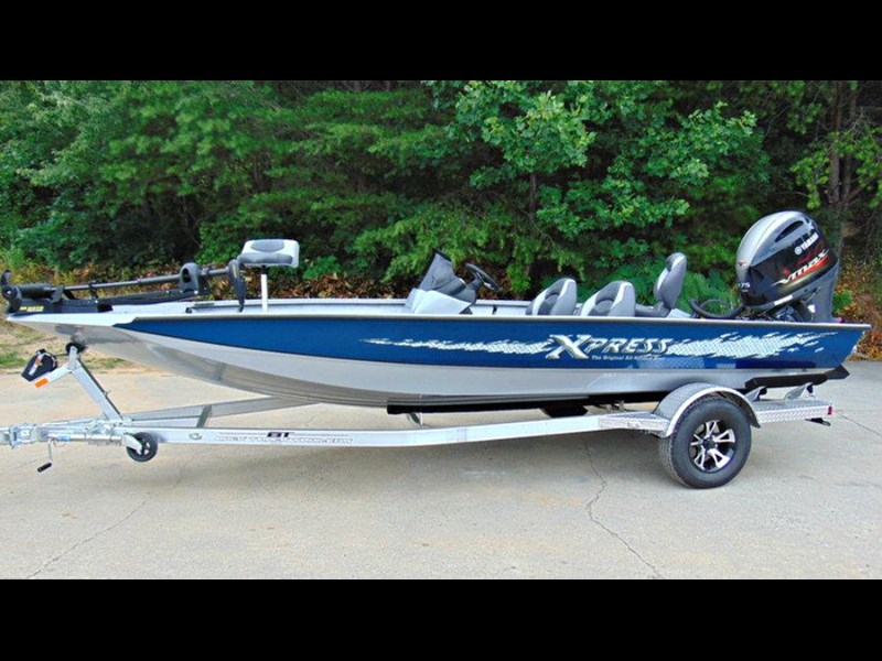bass boat xpress x19 pro tournament bass fishing boat 521886 011