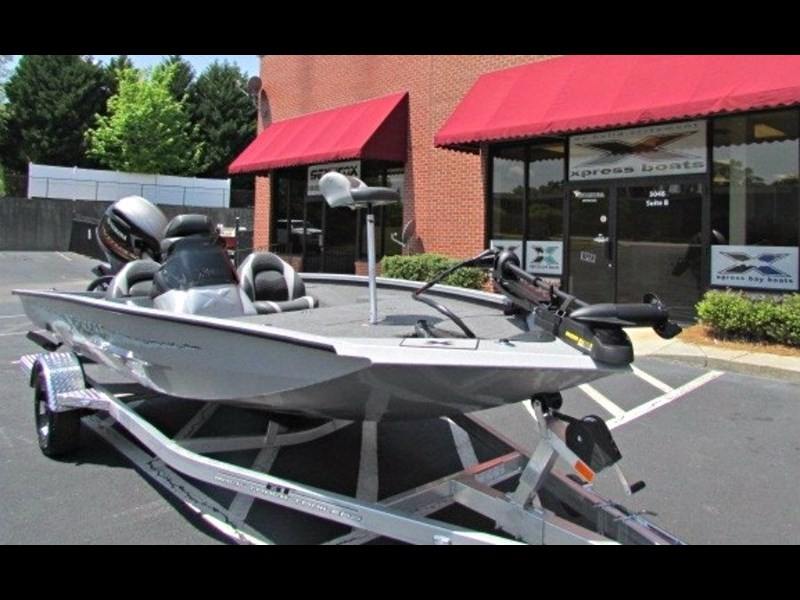 bass boat xpress x18 pro tournament bass fishing boat 522395 003