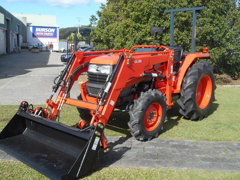 kubota l3408dt with 4 in 1 fel 522887 005
