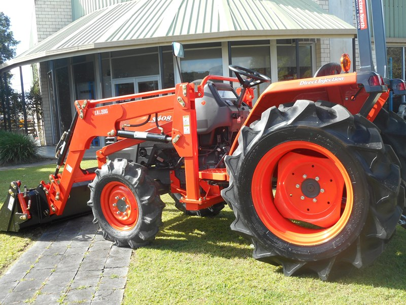 kubota l3408dt with 4 in 1 fel 522887 007
