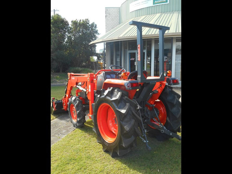 kubota l3408dt with 4 in 1 fel 522887 009