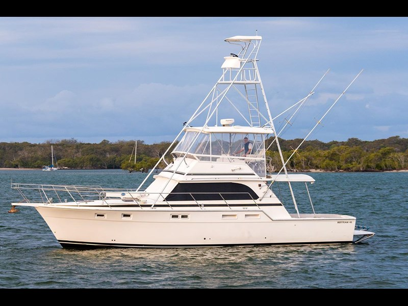 bertram 45' flybridge 523932 005