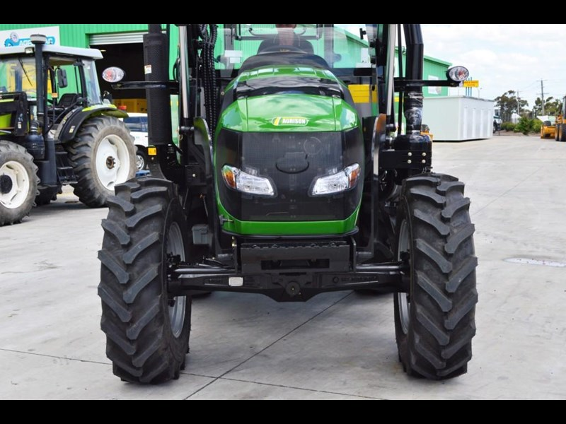 agrison 80hp cdf cabin - 4in1 bucket - 5 year warranty - free 6ft slasher! 424777 041