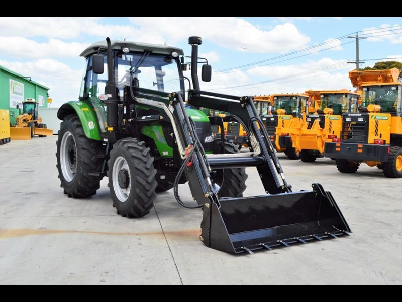 agrison 80hp cdf cabin - 4in1 bucket - 5 year warranty - free 6ft slasher! 424777 045