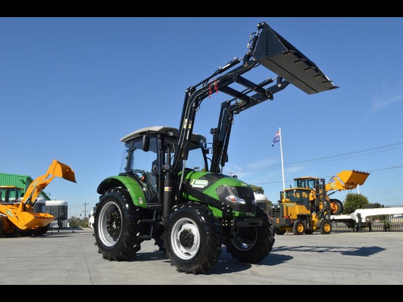 agrison 80hp cdf cabin - 4in1 bucket - 5 year warranty - free 6ft slasher! 455374 001