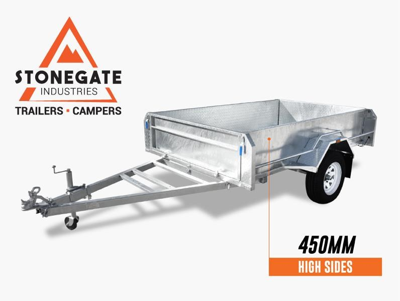 stonegate 7x5 high sides trailer 534502 001
