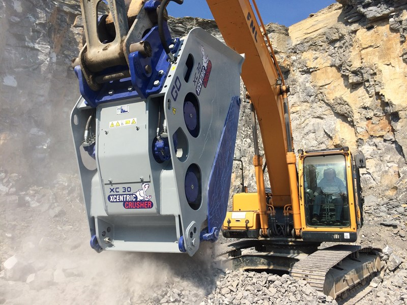 xcentric xc50 crusher buckets rent-try-buy 540599 005