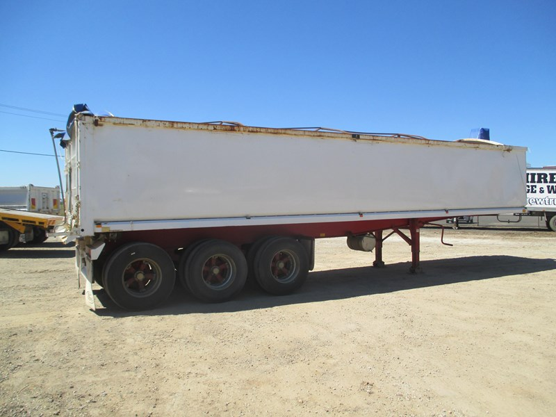 parsons steel grain chassis semi tipper 541759 005