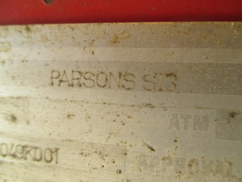 parsons steel grain chassis semi tipper 541759 055