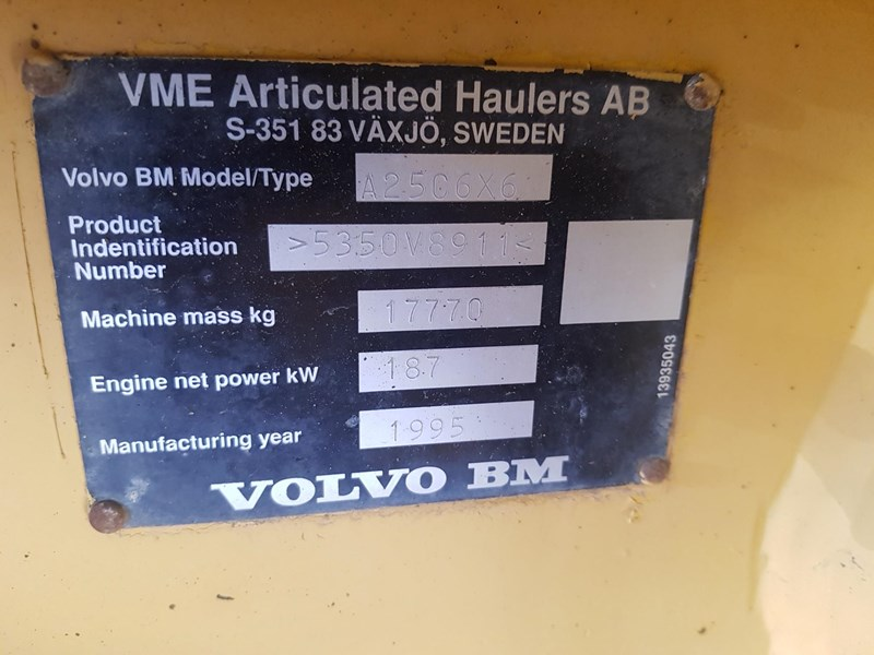 volvo a25c 542746 025