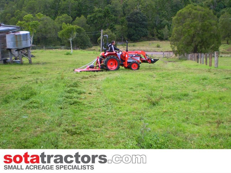 kubota l2202dt tractor with 4 in 1 fel 26hp 57402 025