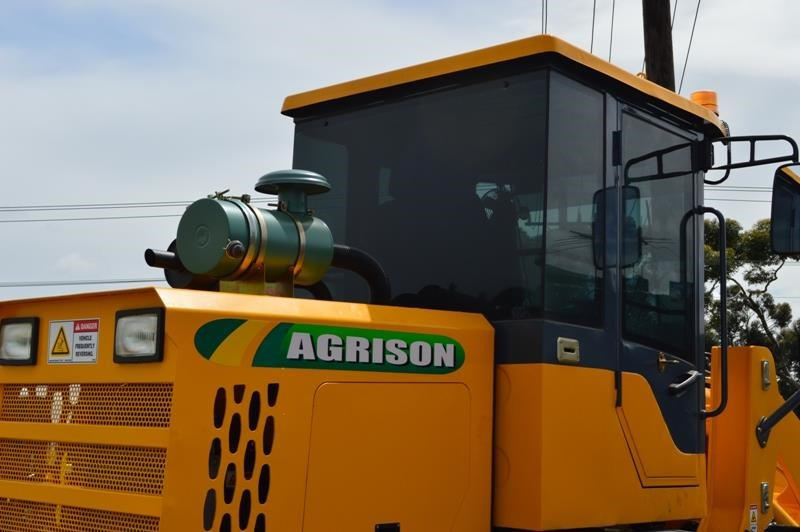agrison agrison tx930l 100hp 6t loader 4in1 gp bucket forks nationwide 426087 007