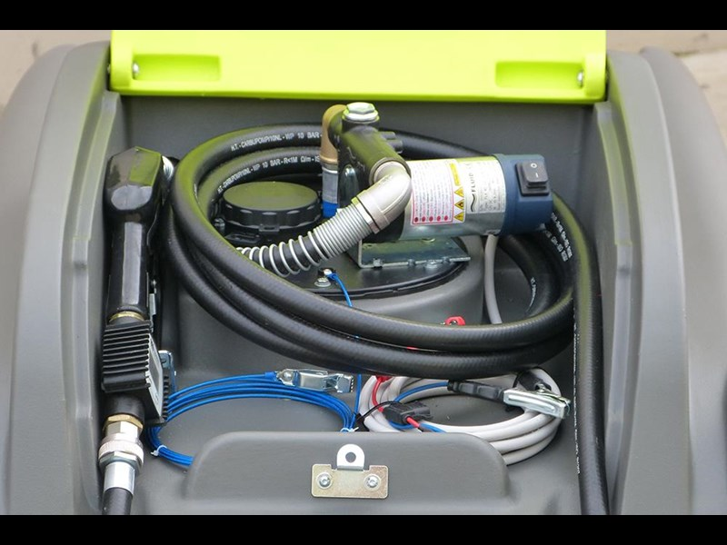 transtank dieselcaptain 1200l with 60l/min pump & ball baffle safety system 416621 013