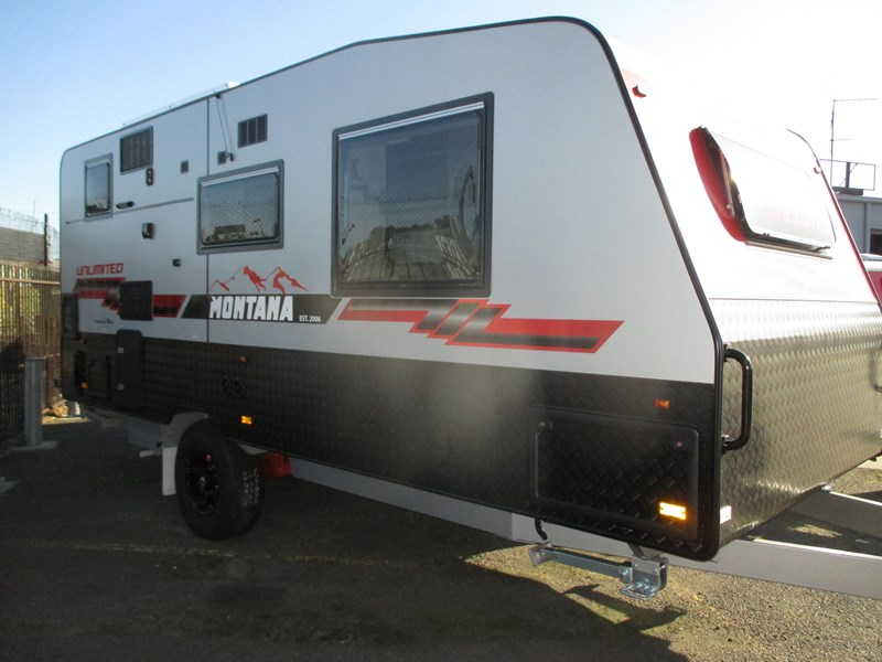 "montana unlimited 18'6"" single axle off road 548129 003"