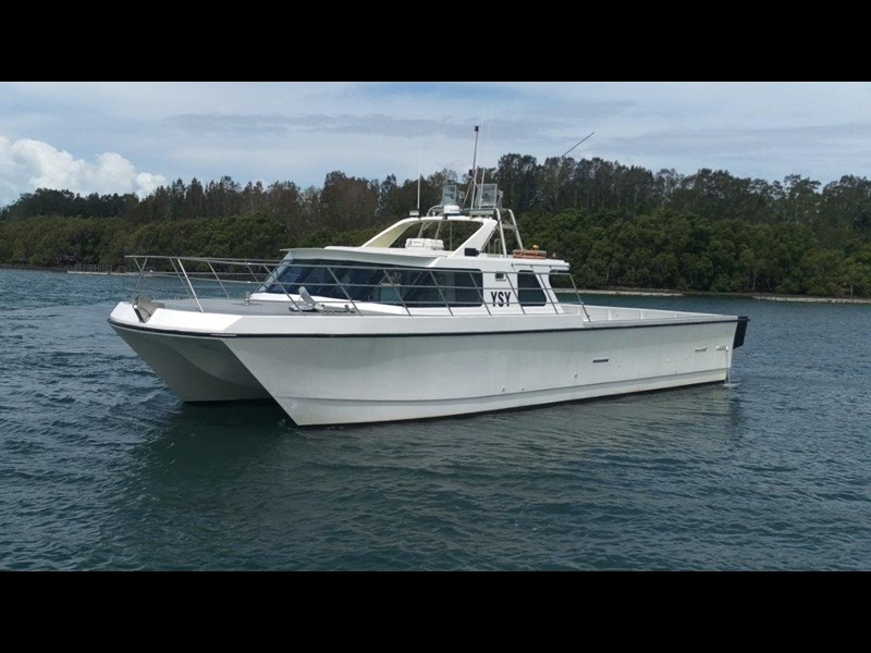 custom cray / crew / fishing / work vessel 534715 001