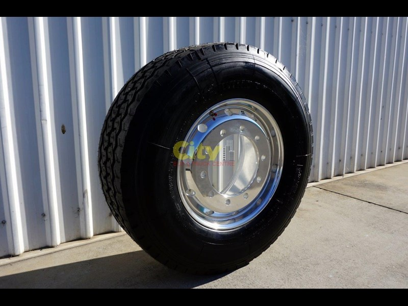 windpower 385/65r22.5 (wgc28) on alcoa 11.75x22.5 durabright - suit scania 551525 003