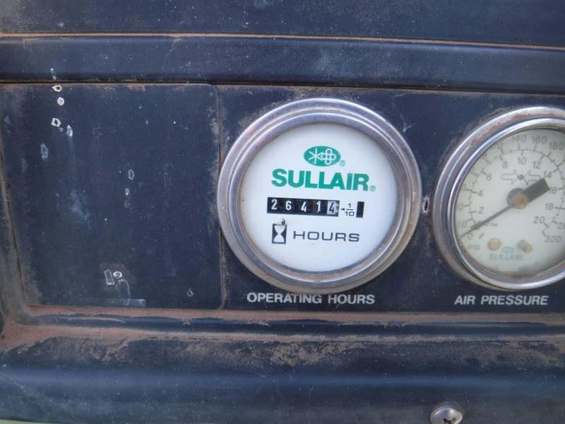 sullair 185 trailer mounted air compressor 477527 013
