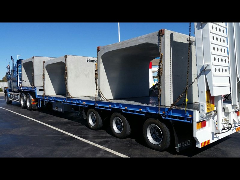 bullet extendable machinery trailer 292113 001