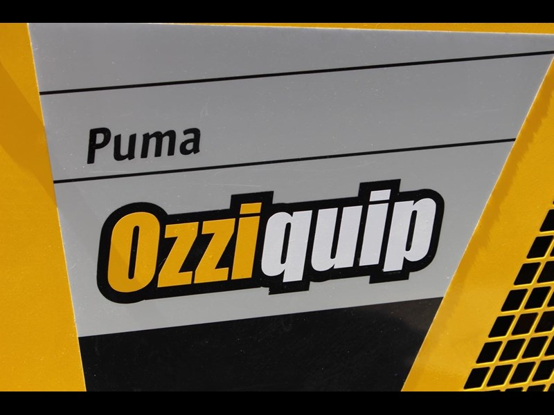 ozziquip puma 21hp diesel 7 piece package deal with trailer 563914 011