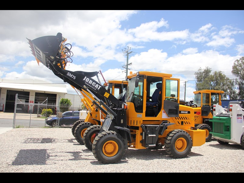 joblion equipments 2019 new joblion sm75 75hp 5.2ton free gp bucket+bucket 4 in 1+forks 546461 043