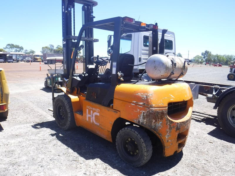 powerlift hc r45l forklift 569580 005