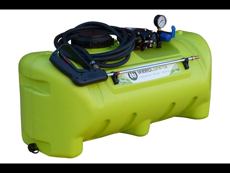 trans tank weedcontrol 55l - sprayer with 8.3l/min pump 571751 003