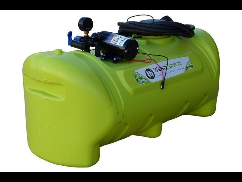 trans tank weedcontrol 55l - sprayer with 8.3l/min pump 571751 005