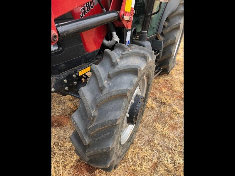 case ih jx80 with challenge loader 577709 007