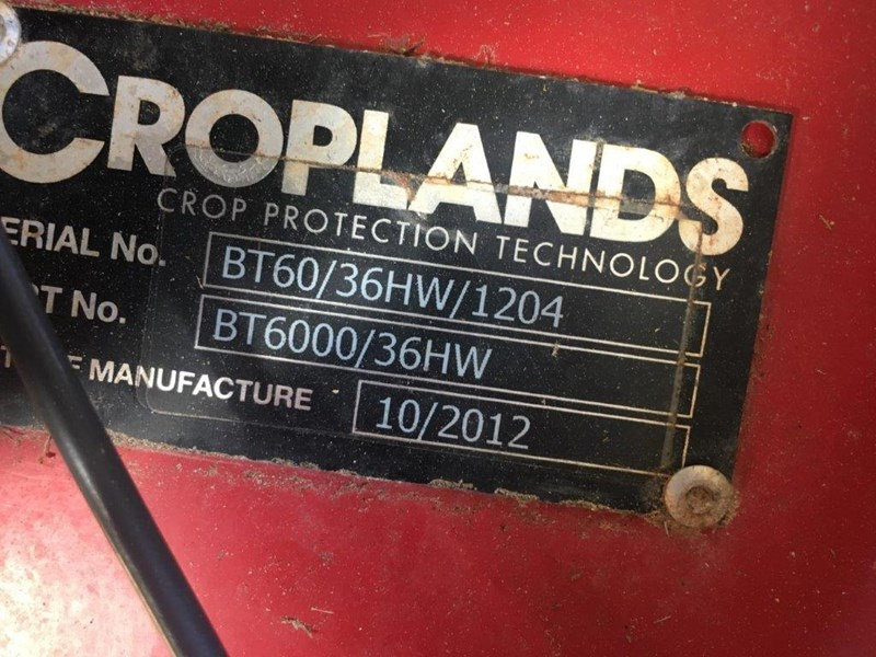 croplands bt6000l/36hw + new boom 578779 047