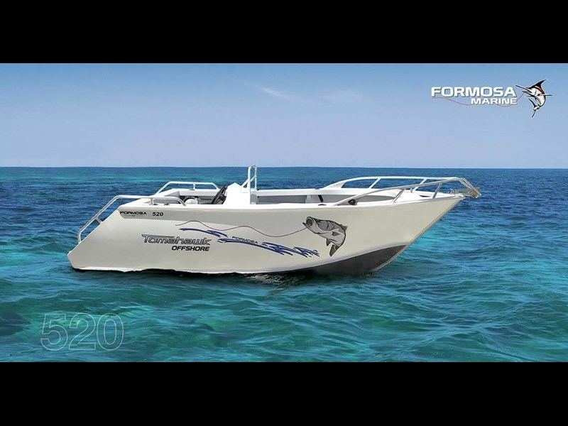 formosa tomahawk offshore 520 side console 179691 001